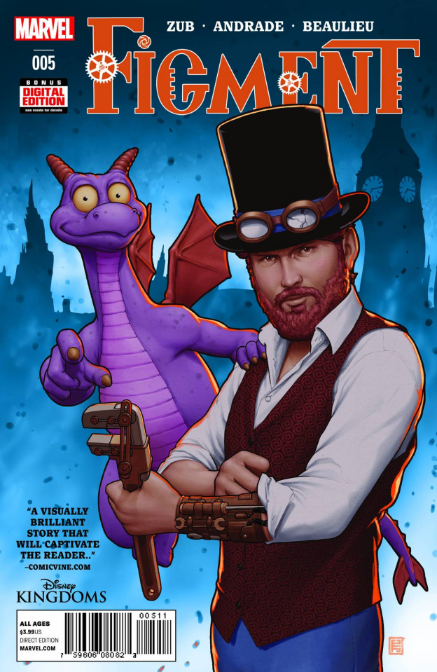 Figment #5 (2nd Printing)