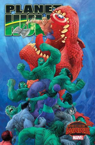 Planet Hulk #1 (Singh Cover)
