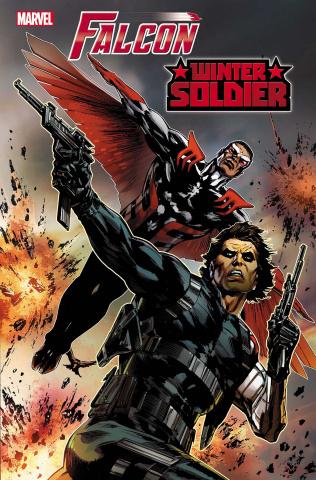 Falcon & Winter Soldier #1 (Guice Cover)