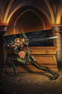 Grimm Fairy Tales: Robyn Hood - I Love NY #5 (Kivela Cover)