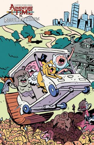 Adventure Time: Regular Show #5 (10 Copy Daguna Cover)