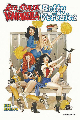Red Sonja and Vampirella Meet Betty and Veronica