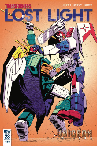 The Transformers: Lost Light #23 (Senior Cover)