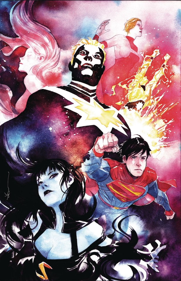 The Legion of Super Heroes #8 (Dustin Nguyen Cover)