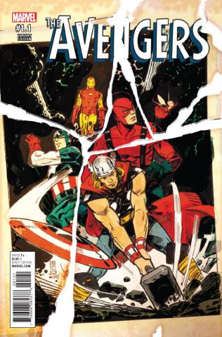 Avengers #1.1 (Maleev Cover)