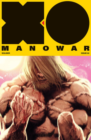 X-O Manowar #2 (50 Copy Andrews Cover)