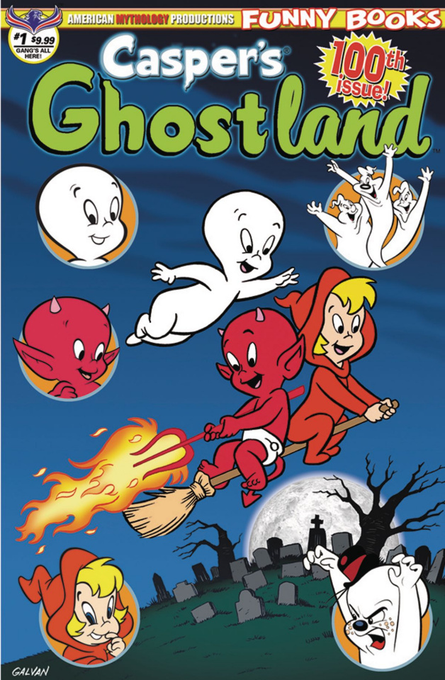 Casper's Ghostland #100 (100th Issue Anniversary Gang's All Here Cover)