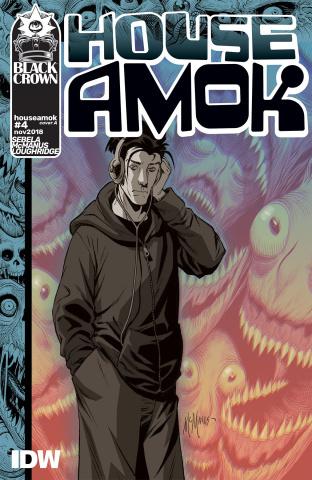 House Amok #4 (McManus Cover)