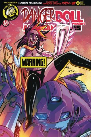 Danger Doll Squad Presents: Amalgama Lives #3 (Rudetoons Cover)