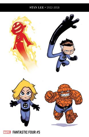 Fantastic Four #5 (McKone Party Cover)