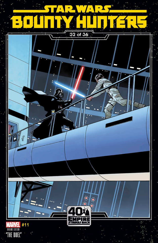 Star Wars: Bounty Hunters #11 (Sprouse Empire Strikes Back Cover)