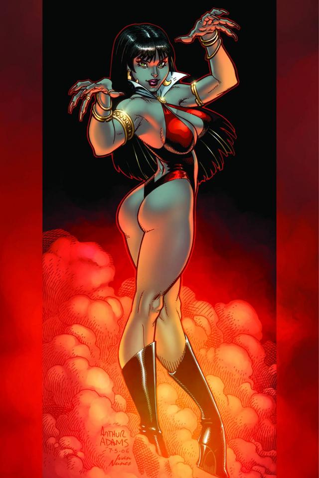 Vampirella: Feary Tales #3 (Rare Adams Virgin Cover)