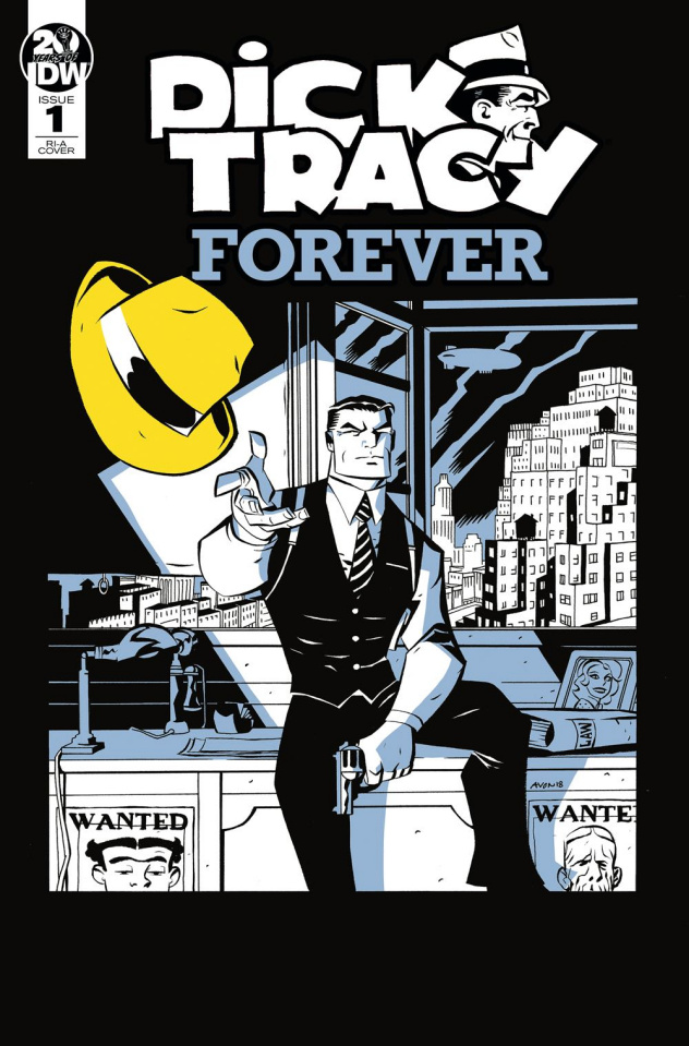 Dick Tracy Forever #1 (10 Copy Oeming Cover)