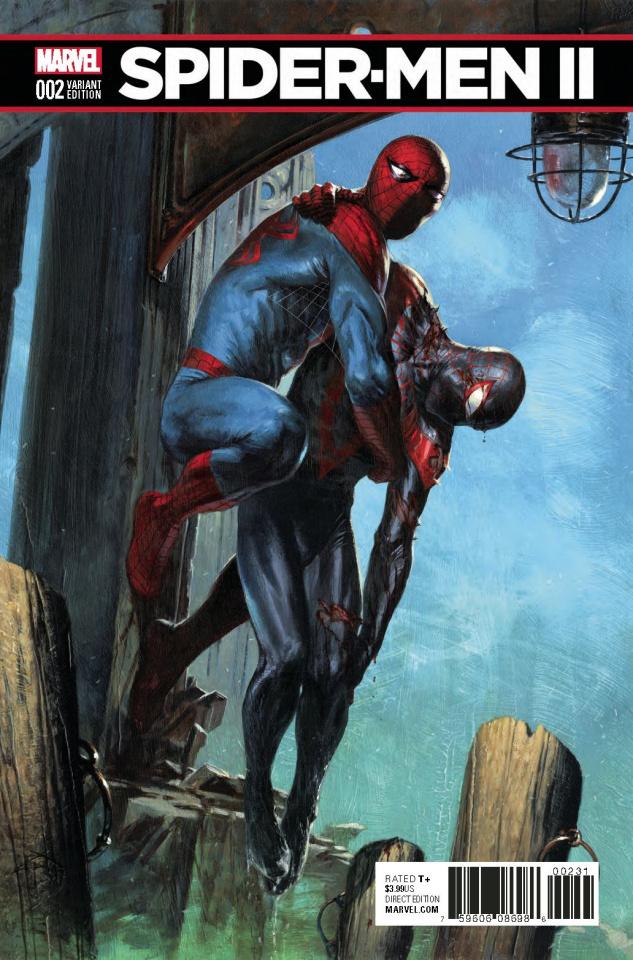 Spider-Men II #2 (Saiz Connecting Cover)