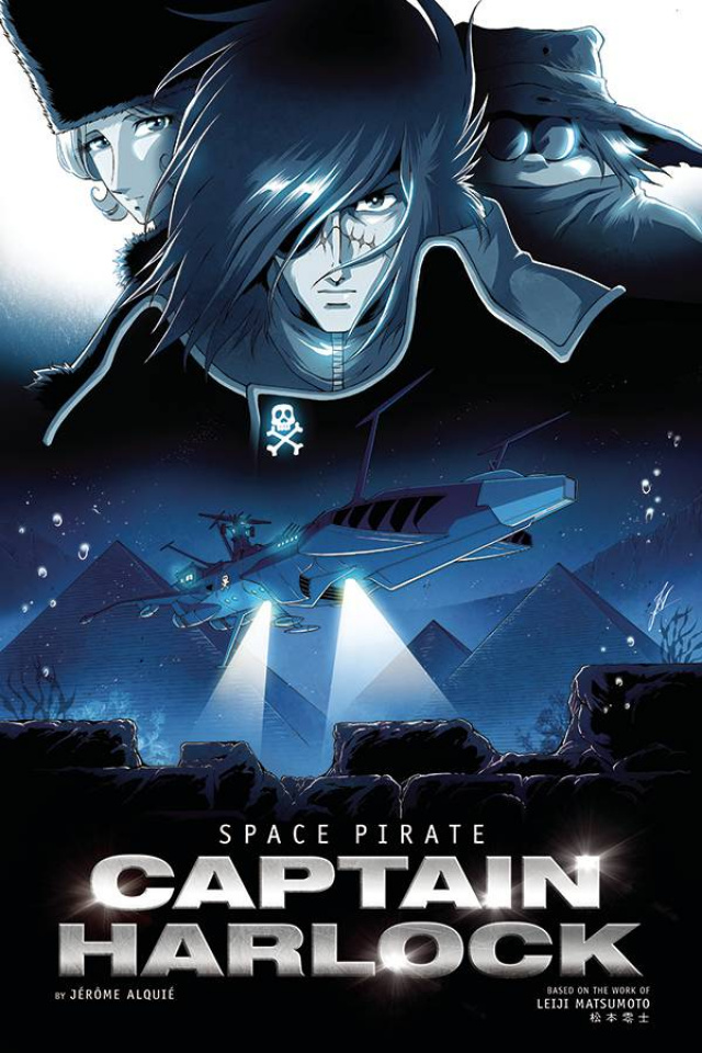 Space Pirate: Captain Harlock #3 (Alquie Cover)