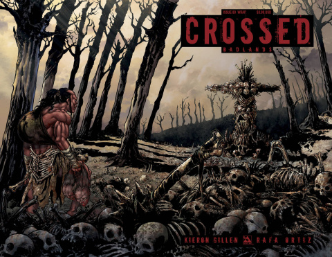 Crossed: Badlands #80 (Wrap Cover)