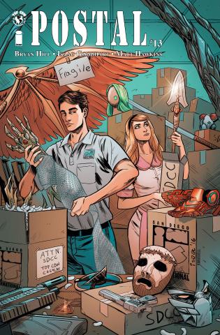 Postal #13 (SDCC Cover)