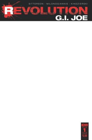 G.I. Joe: Revolution #1 (Blank Sketch Cover)