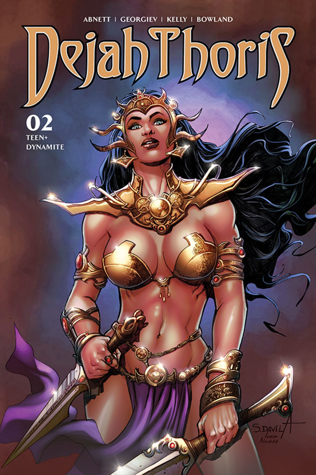 Dejah Thoris #2 (Davila Bonus Cover)