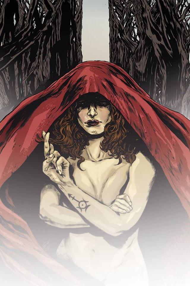 Black Magick #4 (Doyle Cover)