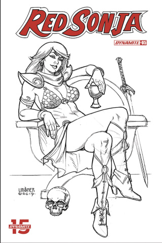 Red Sonja #5 (30 Copy Linsner B&W Cover)