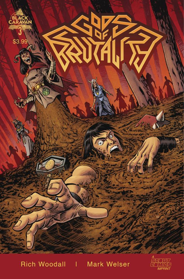 Gods of Brutality #3 (Welser Cover)