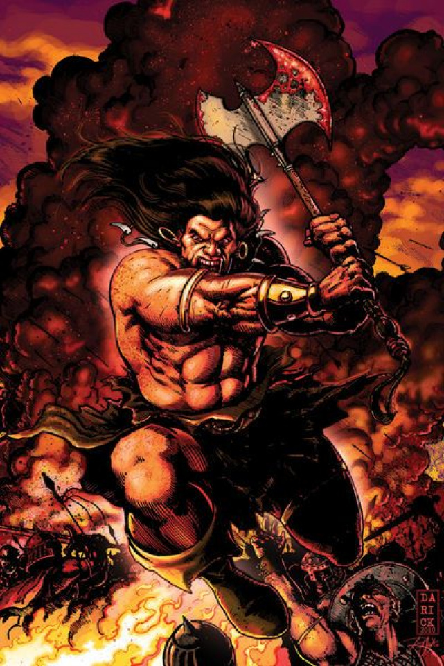 King Conan: The Scarlet Citadel #2