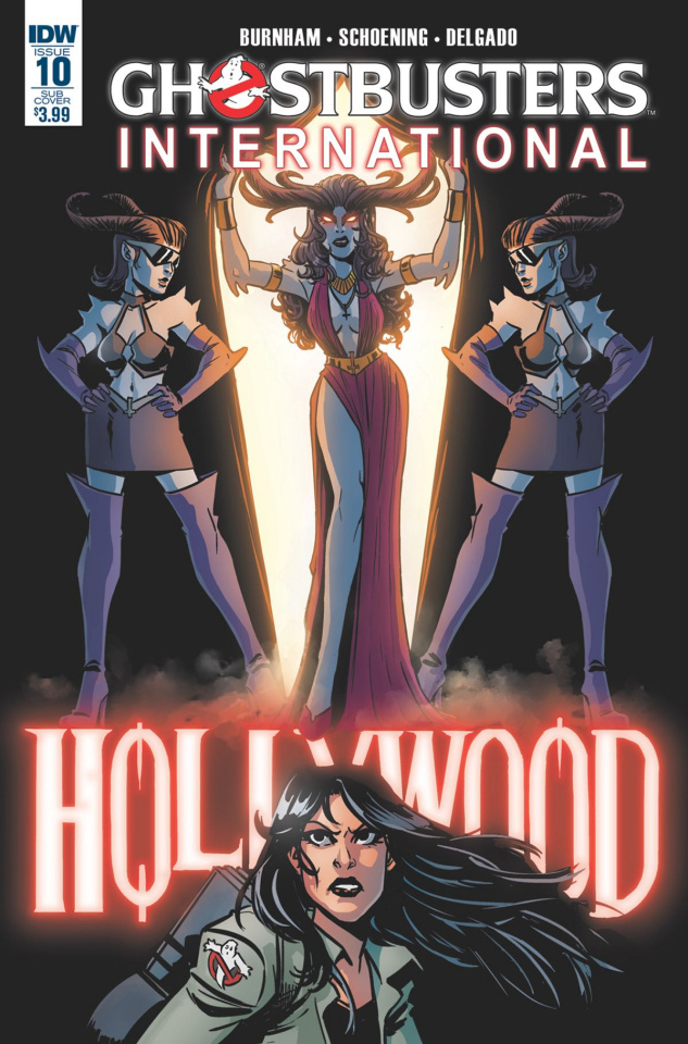 Ghostbusters International #10 (Subscription Cover)