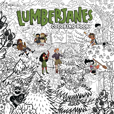 Lumberjanes Coloring Book