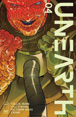 Unearth #4 (Rivas Cover)