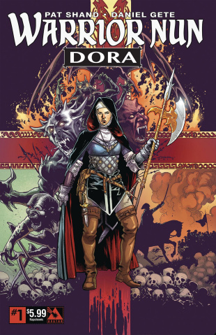 Warrior Nun: Dora #1 (Napoleonic Era Cover)