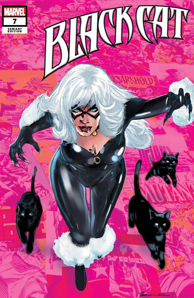 Black Cat #7 (Jimenez Pride Month Cover)