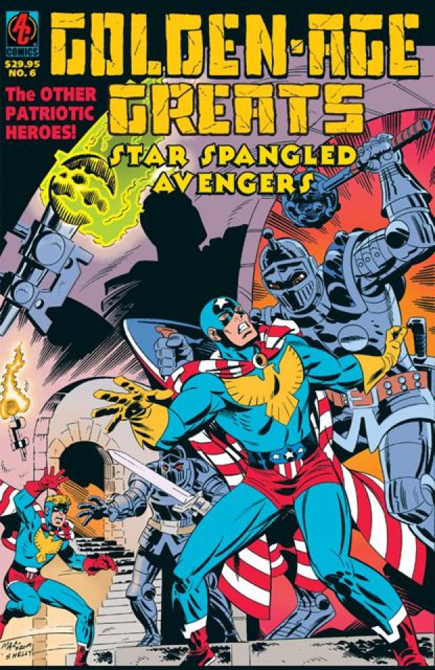 Golden Age Greats Spotlight Vol. 6: Star Spangled Avengers