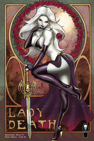 Lady Death: Apocalyptic Abyss #2 (Violet Cover)