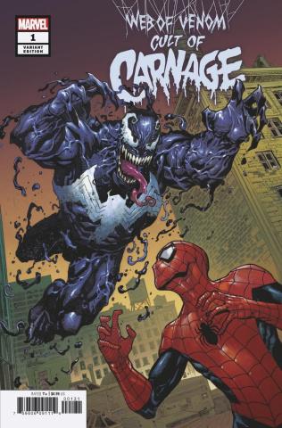 Web of Venom: Cult of Carnage #1 (Cassara Cover)