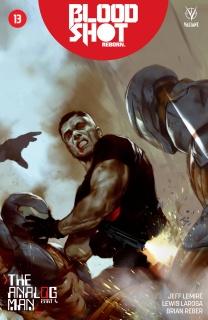 Bloodshot: Reborn #13 (Oliver Cover)