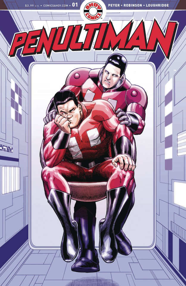 Penultiman #1 (Robinson Cover)