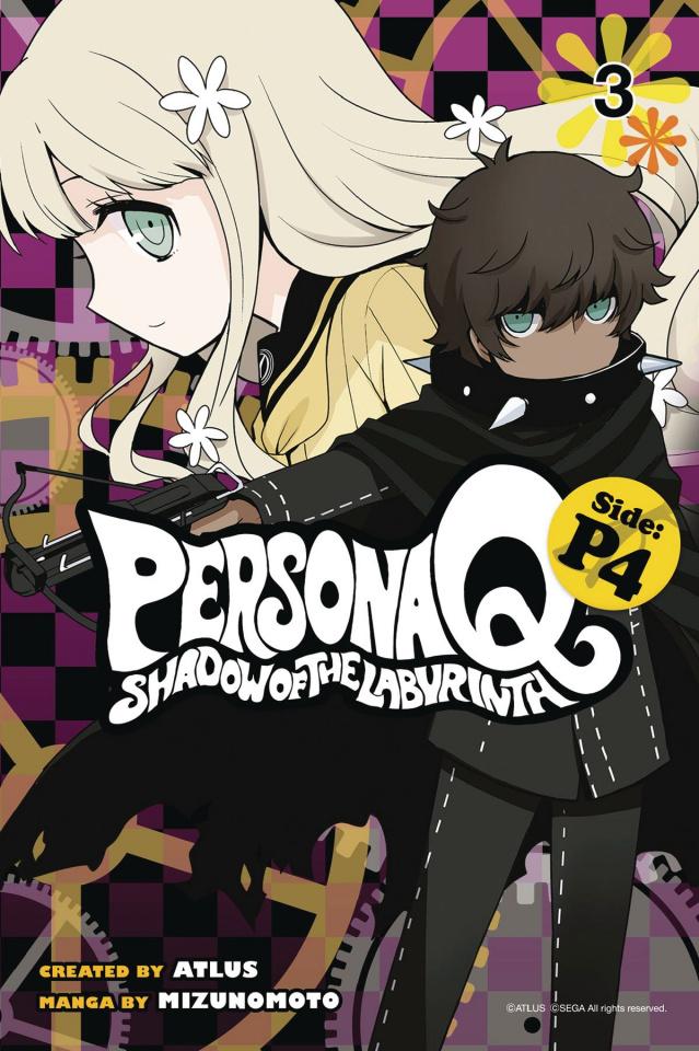 Persona Q: Shadow of the Labyrinth Vol. 3