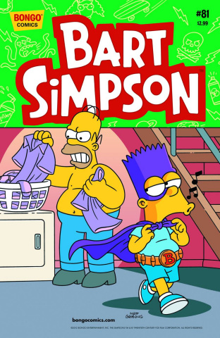 Bart Simpson Comics #81