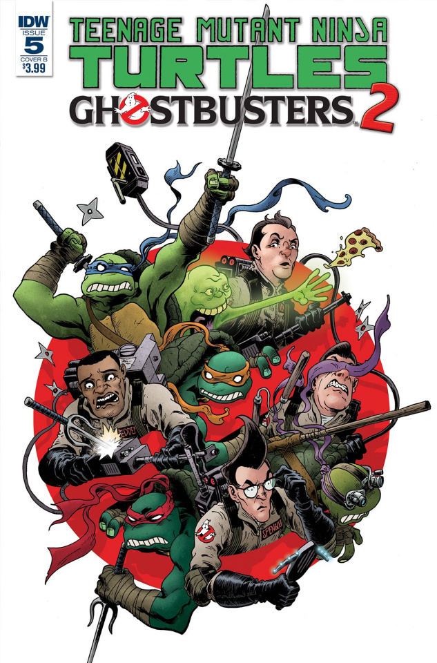 Teenage Mutant Ninja Turtles / Ghostbusters 2 #5 (Wilson III Cover)