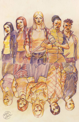 Buffy the Vampire Slayer #24 (25 Copy Lopez Cover)