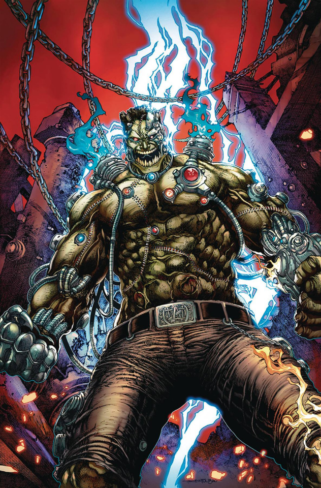 Van Helsing vs. The League of Monsters #3 (Tolibao Cover)