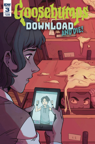 Goosebumps: Download and Die! #3 (Wong Cover)