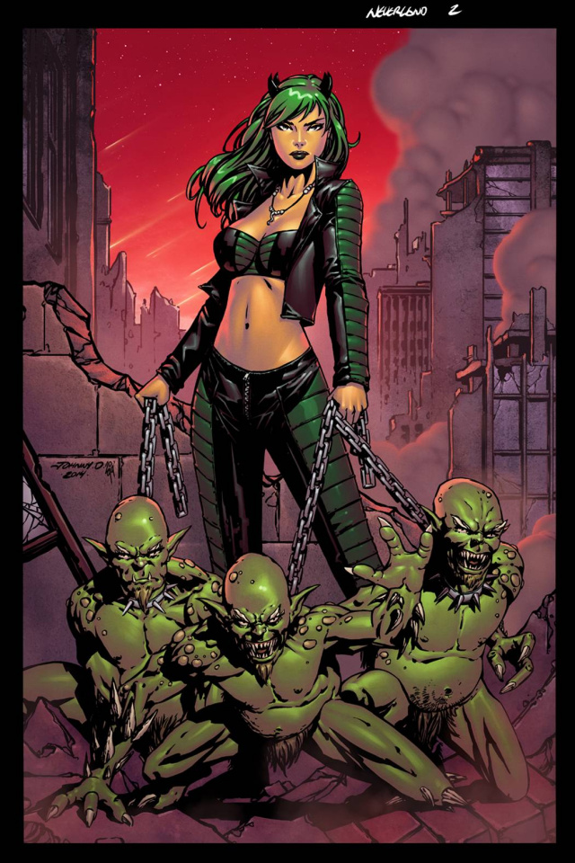 Grimm Fairy Tales: Neverland - Age of Darkness #3 (Desjardins Cover)
