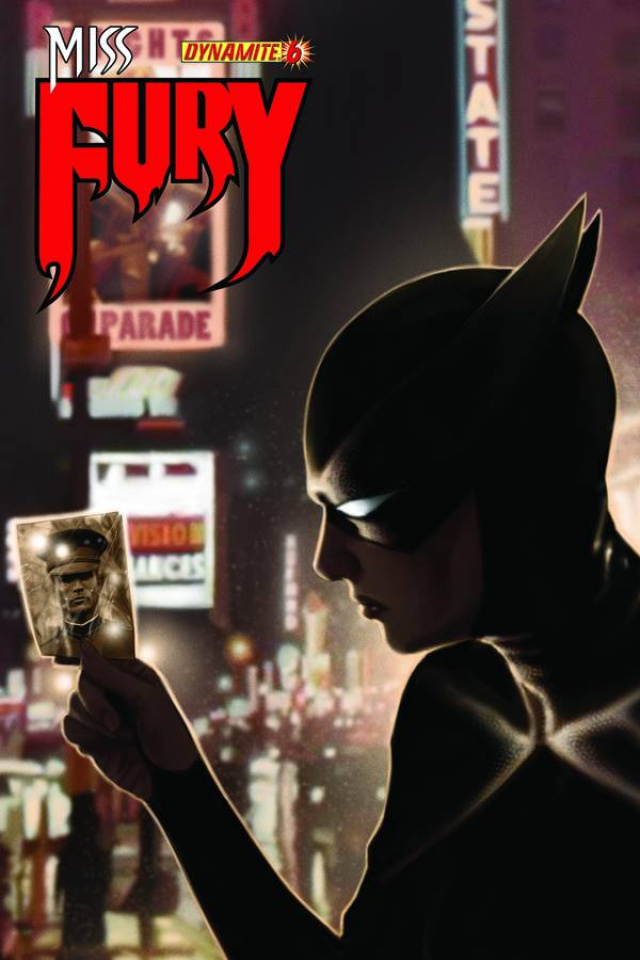 Miss Fury #6 (Worley Cover)