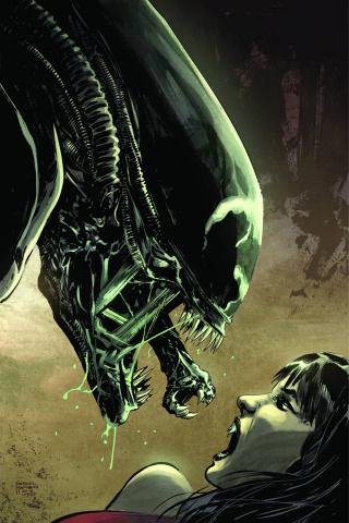 Aliens / Vampirella #2 (Rare Hardman Virgin Cover)