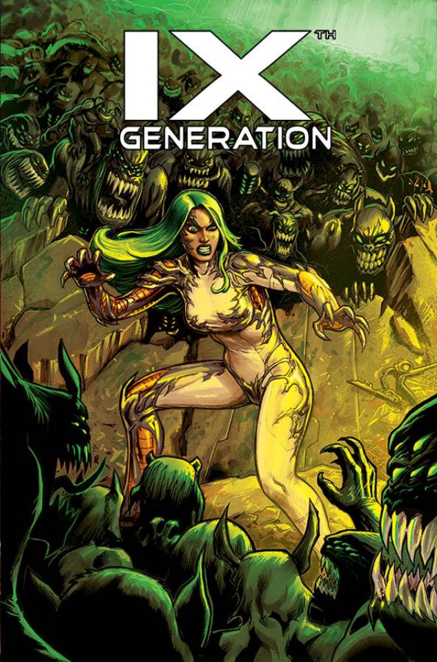 IXth Generation #8 (Rojo Cover)
