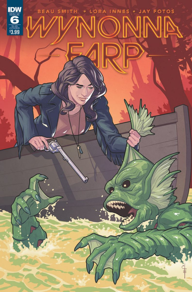 Wynonna Earp #6 (Subscription Cover)