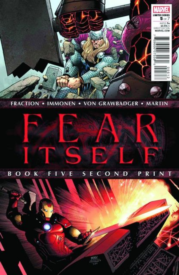 Fear Itself #5 (2nd Printing)