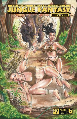 Jungle Fantasy: Survivors #7 (Natural Beauty Cover)